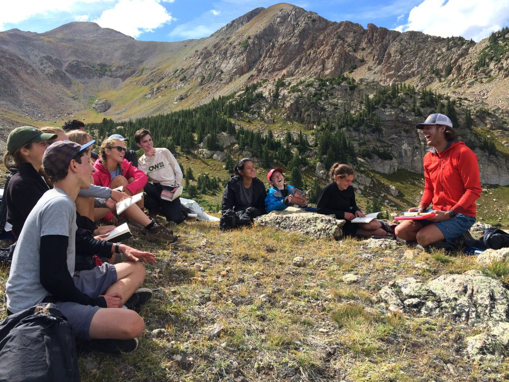 backpacking, class, expedition, hmi, colorado, rockies, high school, summer program