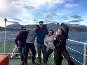 HMI Gap Semesters arriving in Chile Chico Patagonia