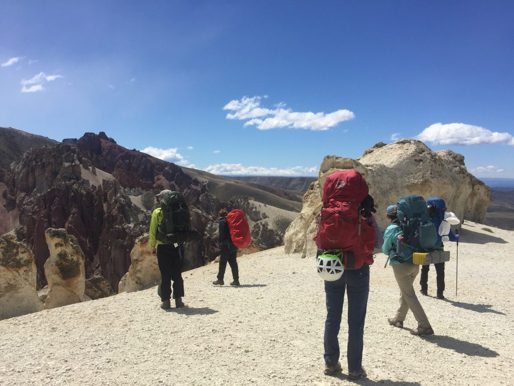 HMI gap, adventure and conservation, backpacking, patagonia national park, gap year